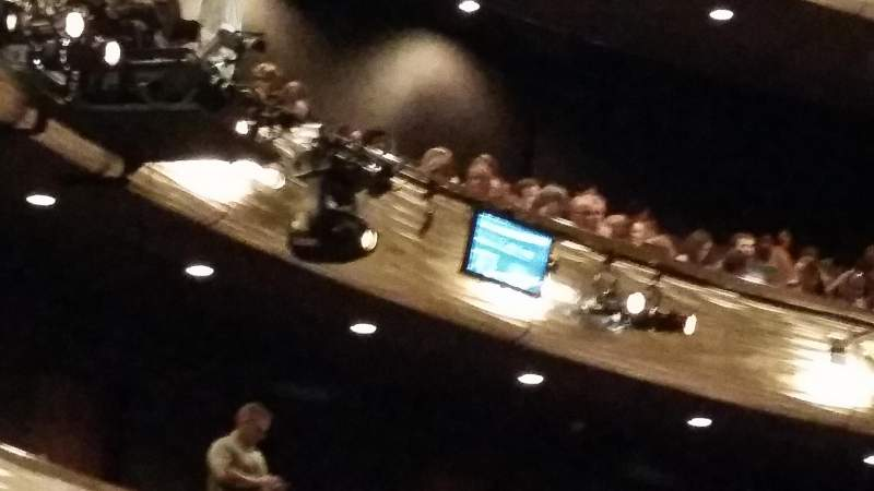 Seating view for Winspear Opera House Section Terr R Row ZZ Seat 3
