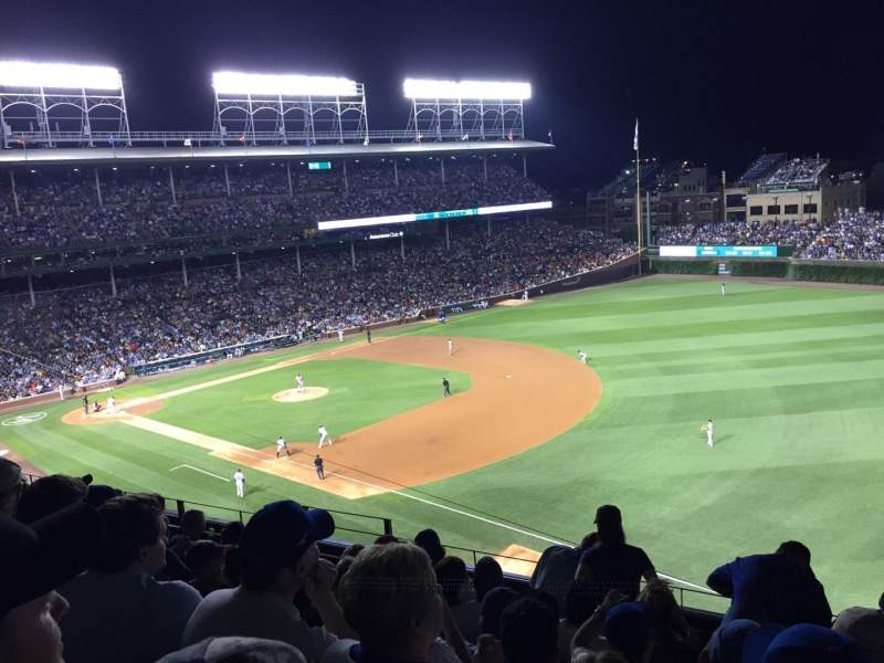 Seating view for Wrigley Field Section 437 Row N Seat 8