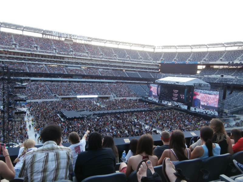 Seating view for MetLife Stadium Section 217 Row 4 Seat 9