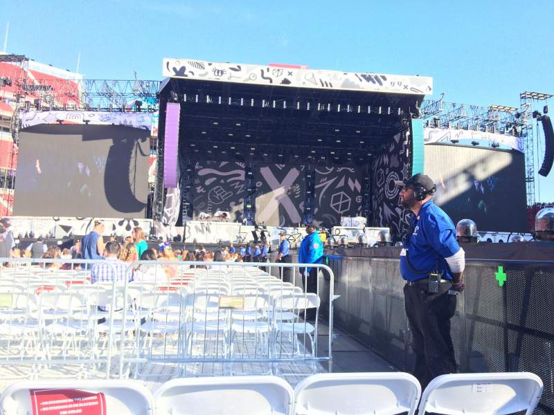 Seating view for Levi's Stadium Section 13 Row 3 Seat 3