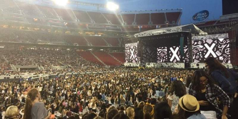 Levi's Stadium, section: 141, row: 11, seat: 14