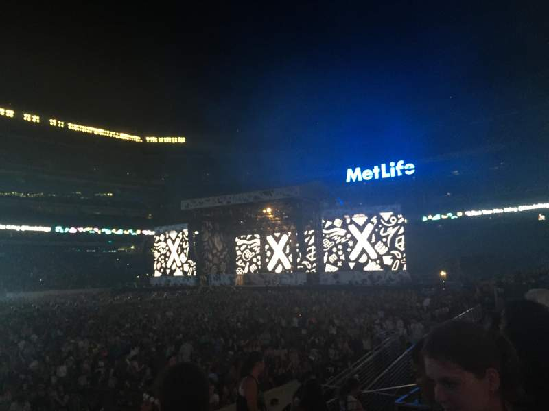 Seating view for MetLife Stadium Section 115A Row 8 Seat 12