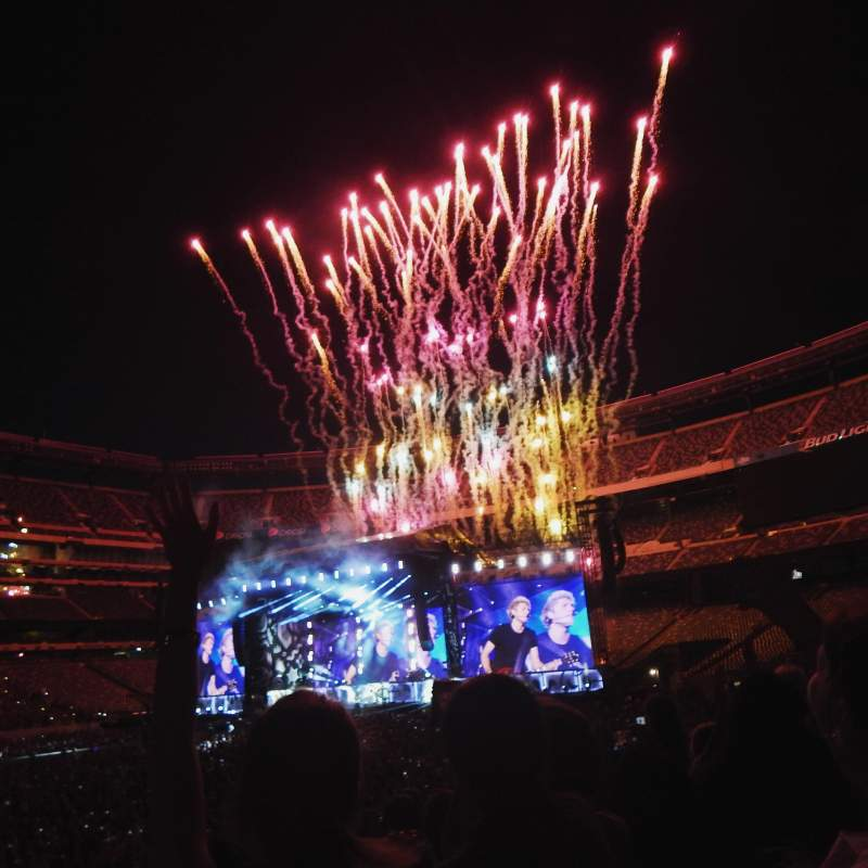 Seating view for MetLife Stadium Section 115A Row 8 Seat 11