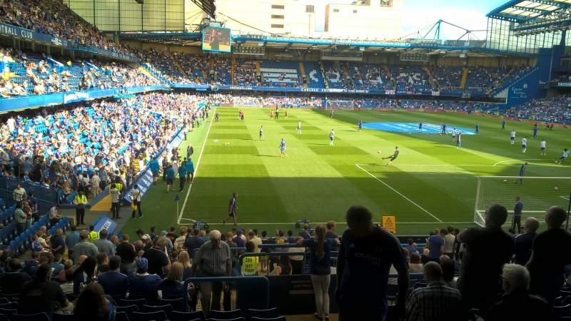 Seating view for Stamford bridge
