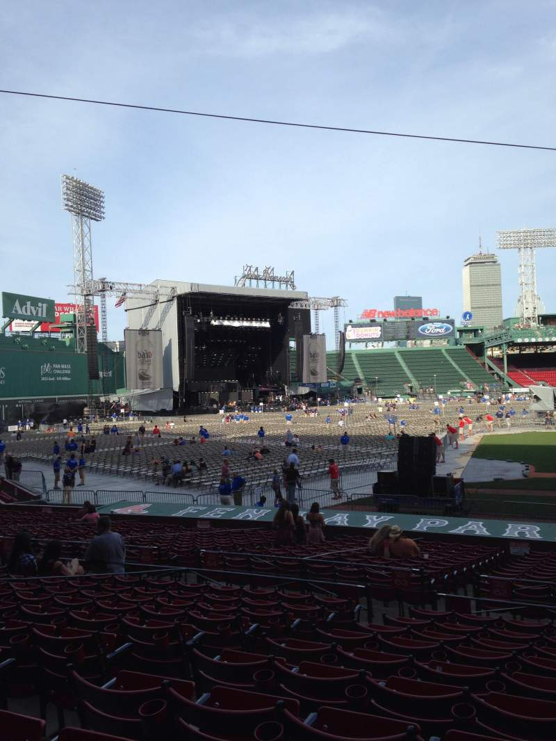 Seating view for Fenway Park Section Loge Box 147 Row KK Seat 5