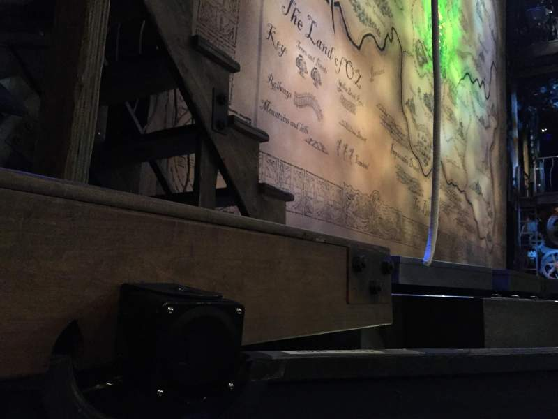 Seating view for Gershwin Theatre Section Orchestra L Row Bb Seat 5