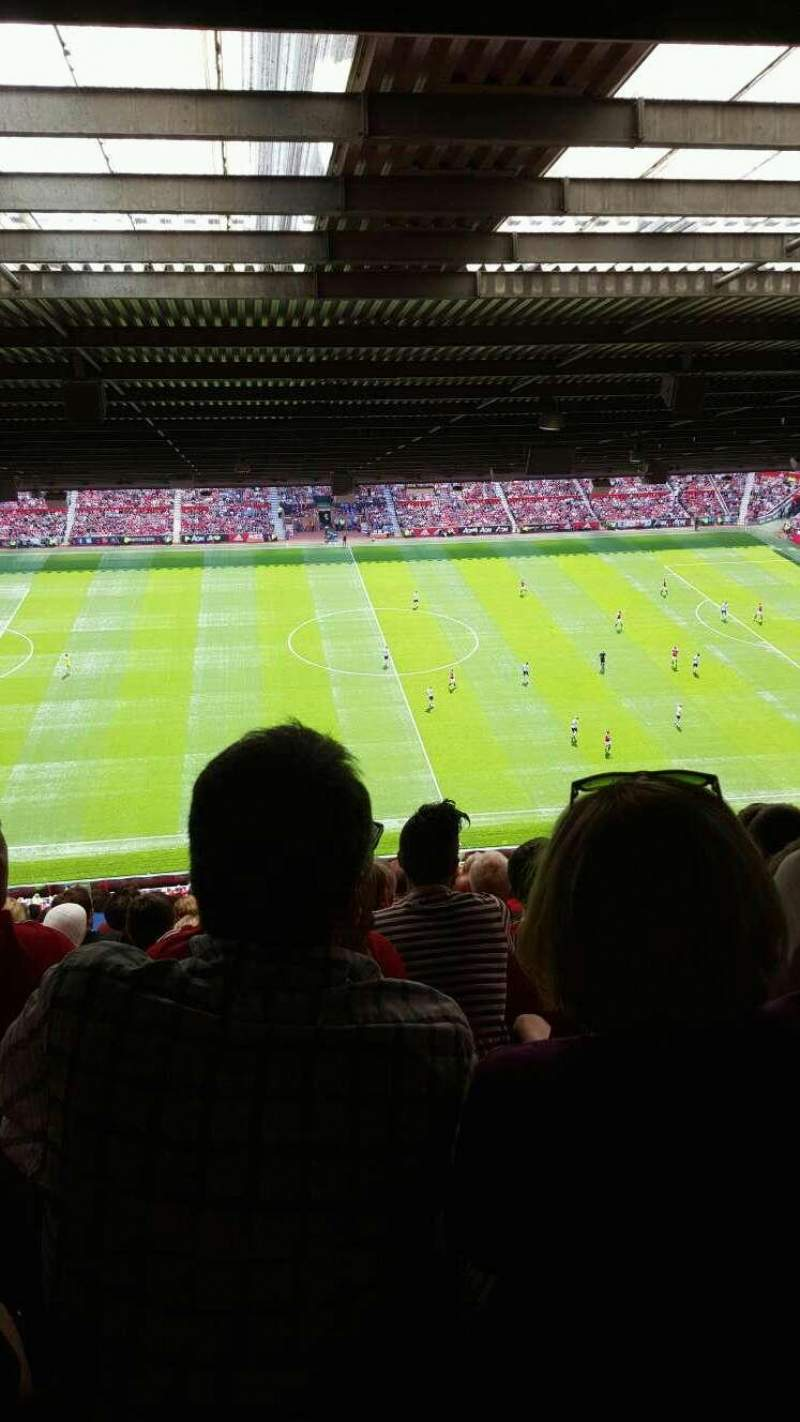 Seating view for Old Trafford Section N4404 Row 16 Seat 150