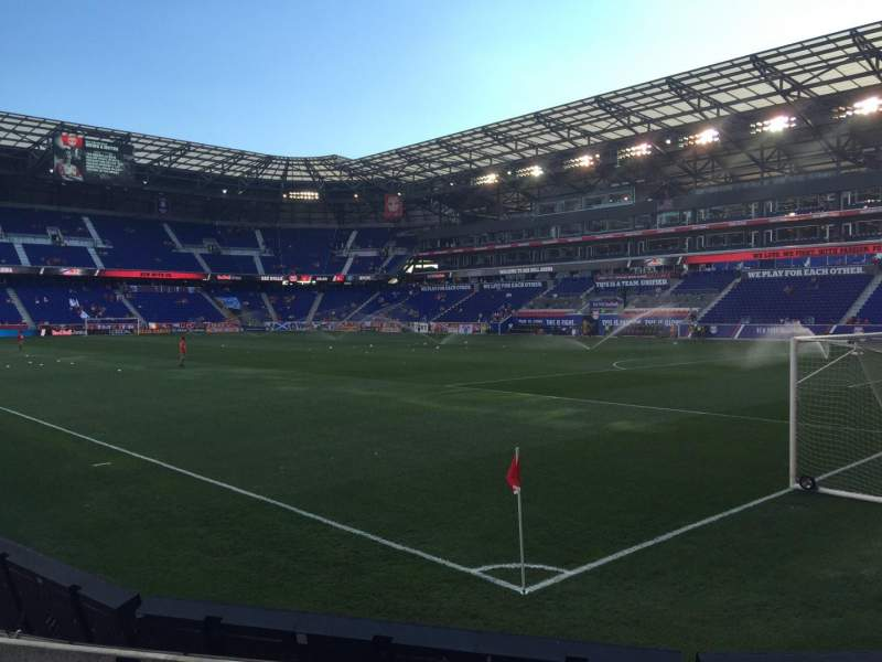 Seating view for Red Bull Arena Section 122 Row 4 Seat 4-6