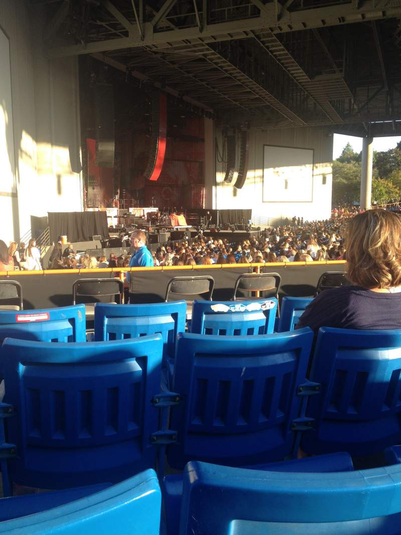 Seating view for PNC Music Pavilion Section 9 Row D