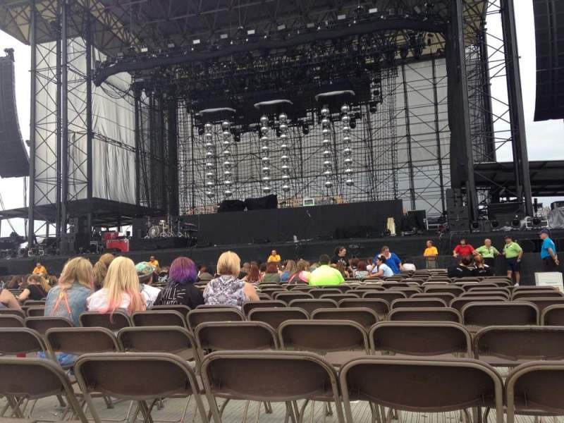 Seating view for Hershey Park Stadium Section B Row 22 Seat 1