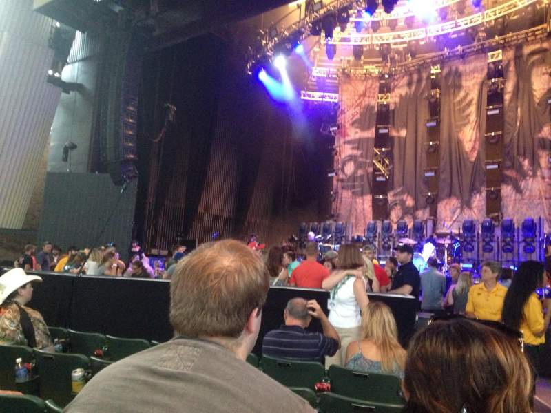 Seating view for Saratoga Performing Arts Center Section 1 Row 5 Seat End seat