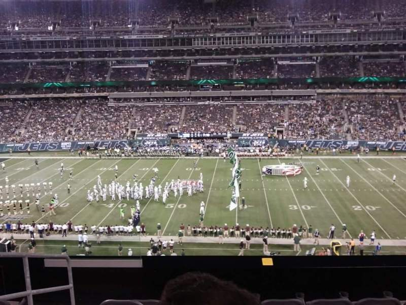 Seating view for MetLife Stadium Section 212 Row 6 Seat 21 AND 22