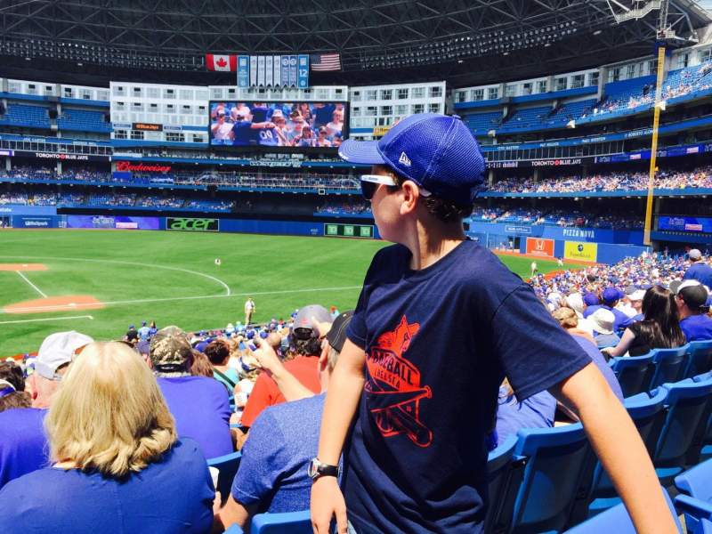 Seating view for Rogers Centre Section 116 Row 17 Seat 3