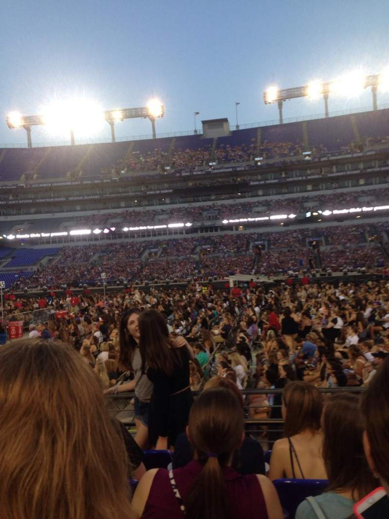 Seating view for M&T Bank Stadium Section 152 Row 5 Seat 16