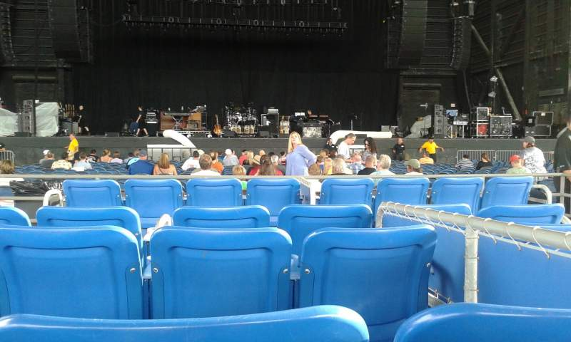 Seating view for MidFlorida Credit Union Amphitheatre Section Box  Seat 11 Row Box Seat 7