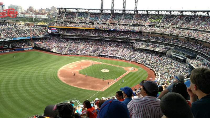 Seating view for Citi Field Section 527 Row 16 Seat 6