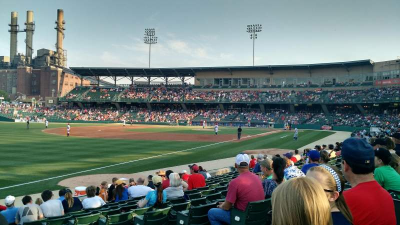 Seating view for Victory Field Section 103 Row M Seat 6