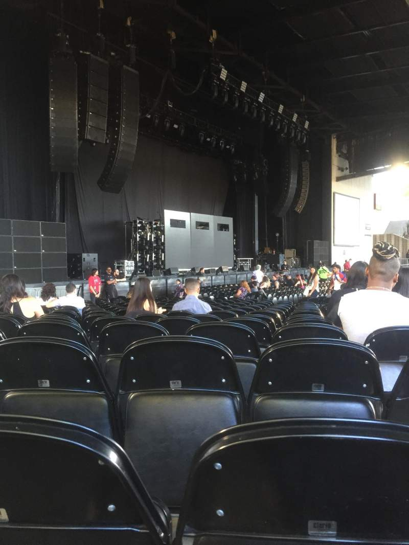 Seating view for Concord Pavilion Section 107 Row S Seat 12
