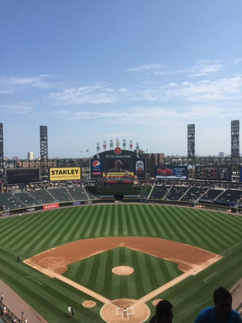 Seating view for Guaranteed Rate Field Section 533 Row 10 Seat 2