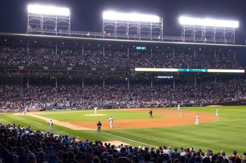 Wrigley Field, section 239, home of Chicago Cubs