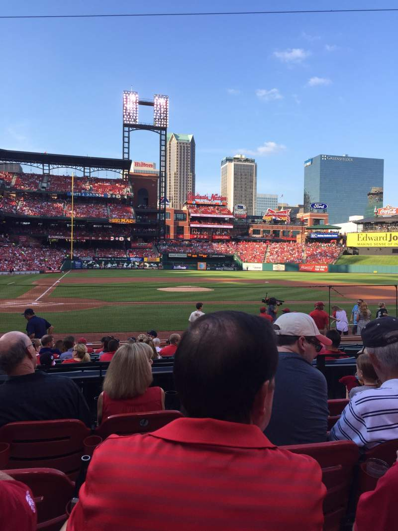 Seating view for Busch stadium Section 146 Row 4 Seat 1,2