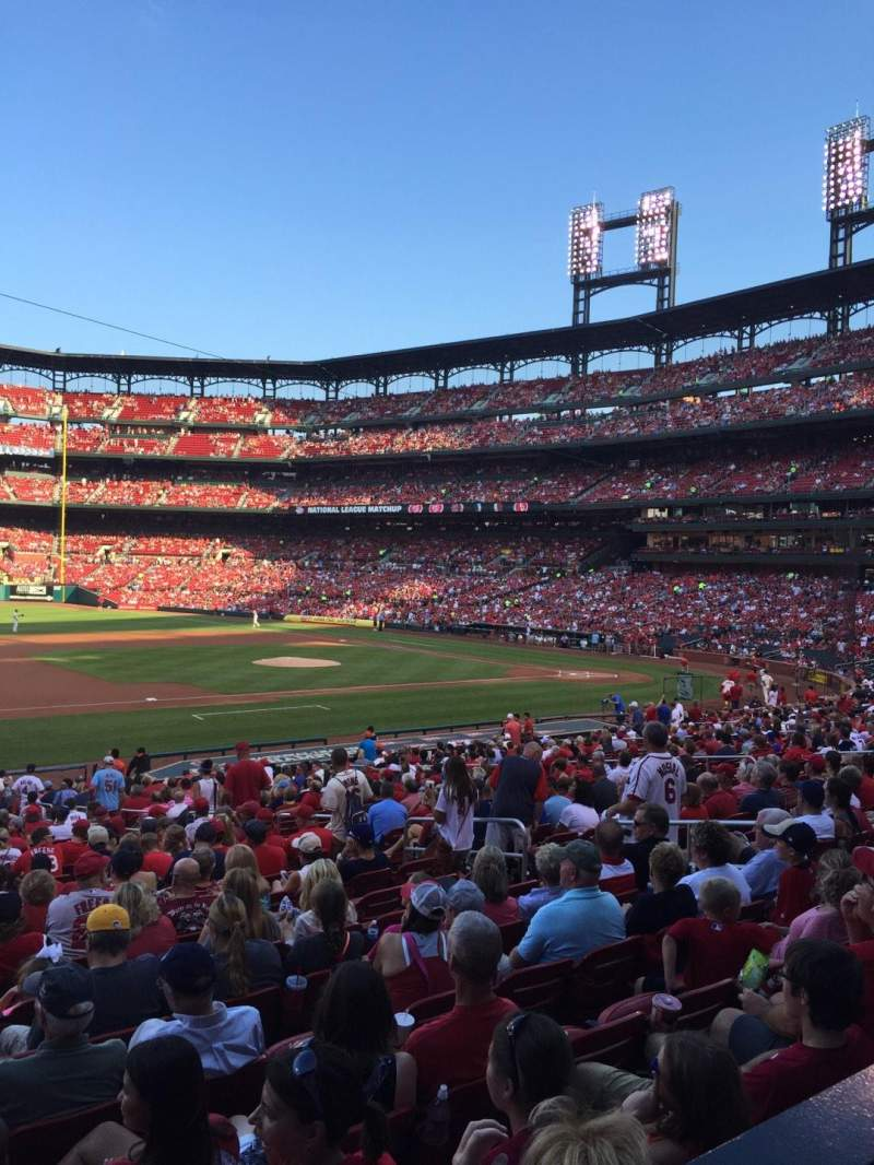 Seating view for Busch Stadium Section 159 Row WC Seat 8