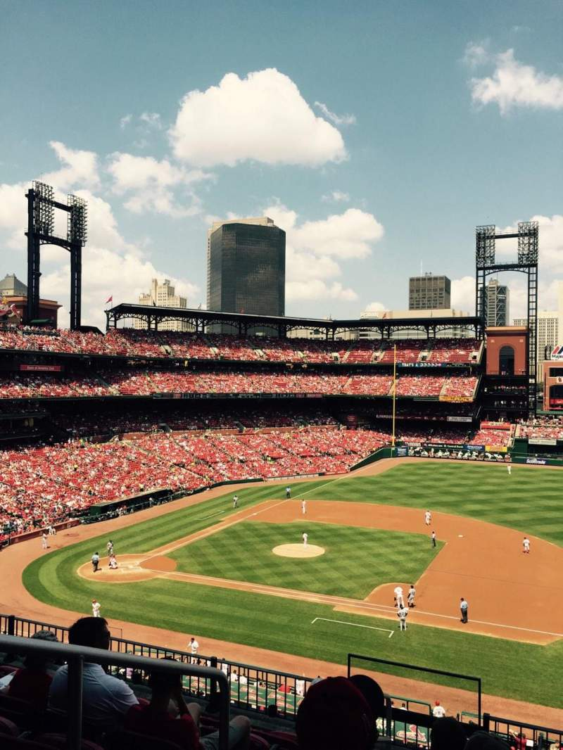 Seating view for Busch Stadium Section 241 Row 7 Seat 2