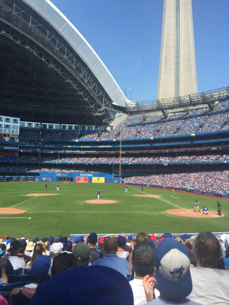 Seating view for Rogers Centre Section 126R Row 24 Seat 6