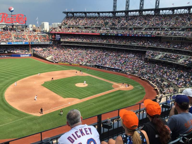 Seating view for Citi Field Section 242 Row C Seat 12