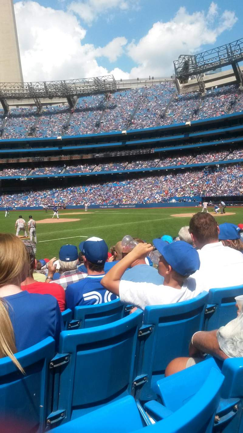 Seating view for Rogers centre Section 128R Row 11 Seat 7