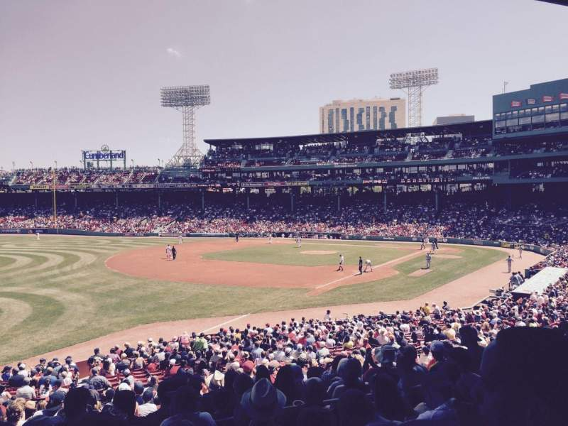 Seating view for Fenway Park Section Field Box 31 Row 6 Seat 14