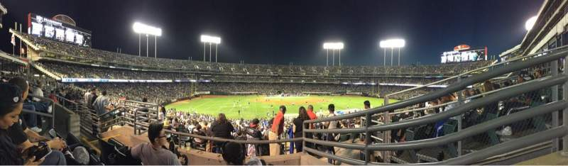 Seating view for Oakland Alameda Coliseum Section 149 Row 5 Seat 7