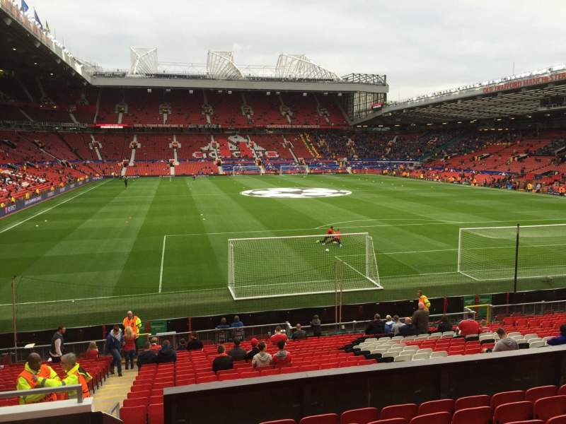 Seating view for Old Trafford Section W203 Row 9 Seat 230