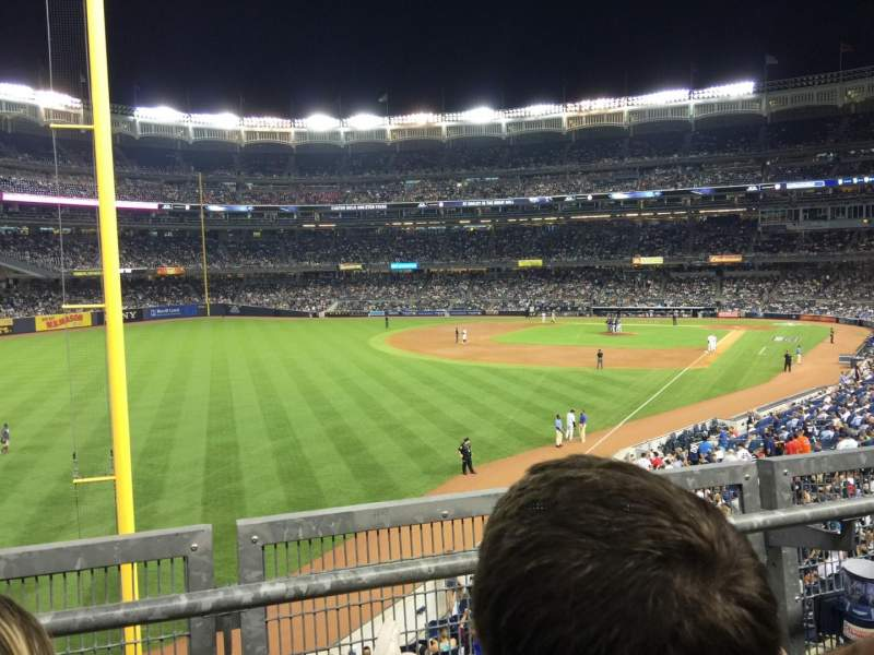 Seating view for Yankee Stadium Section 232A Row 2 Seat 9-10