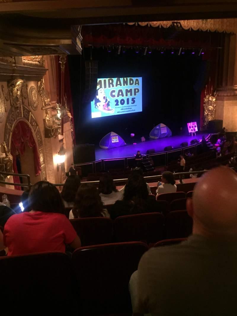 Beacon Theatre, section: Loge 1, row: F, seat: 51