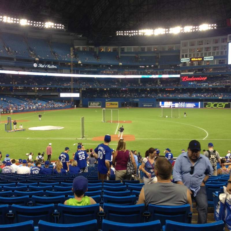 Seating view for Rogers Centre Section 116L Row 29 Seat 102