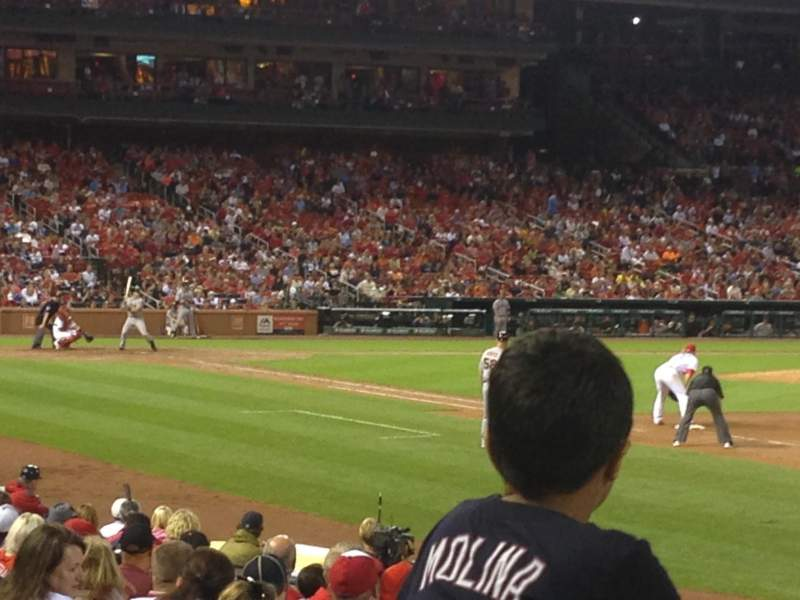 Seating view for Busch Stadium Section 137 Row 5 Seat 5,6