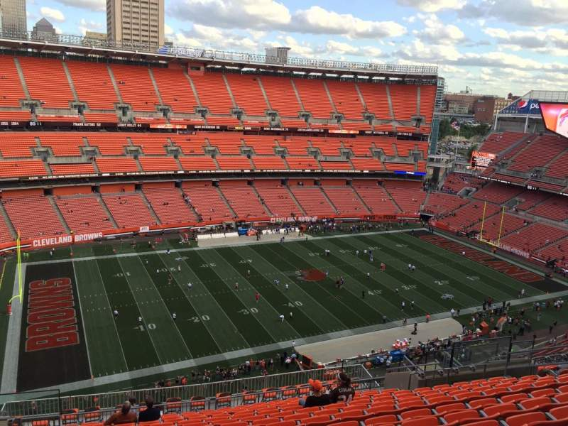 FirstEnergy Stadium, section: 530, row: 20, seat: 10