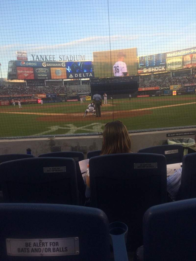 Seating view for Yankee Stadium Section 020 Row 4 Seat 3