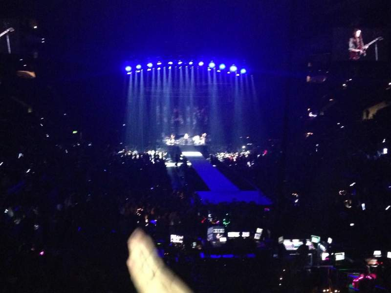 Staples Center Section 208 Row 3 Seat 9 Taylor Swift Tour The 1989 World Tour Shared Anonymously