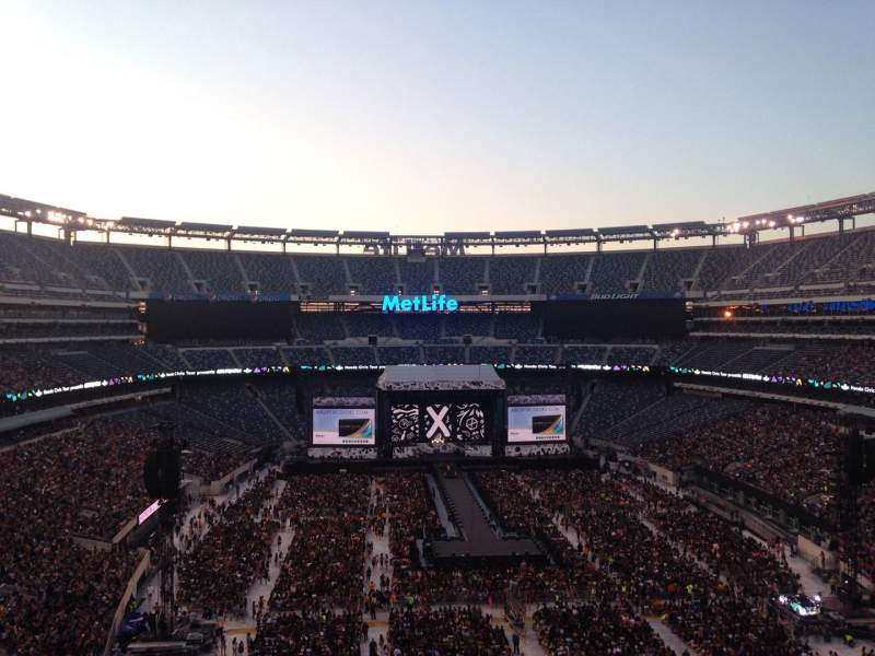 Seating view for MetLife Stadium Section 227b Row 9 Seat 11