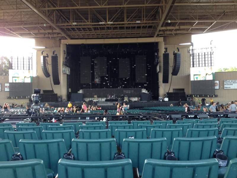 Klipsch Music Center Section F Row M Seat 28
