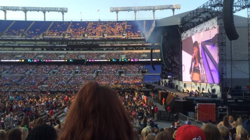 Seating view for M&T Bank Stadium Section 124 Row 17 Seat 13