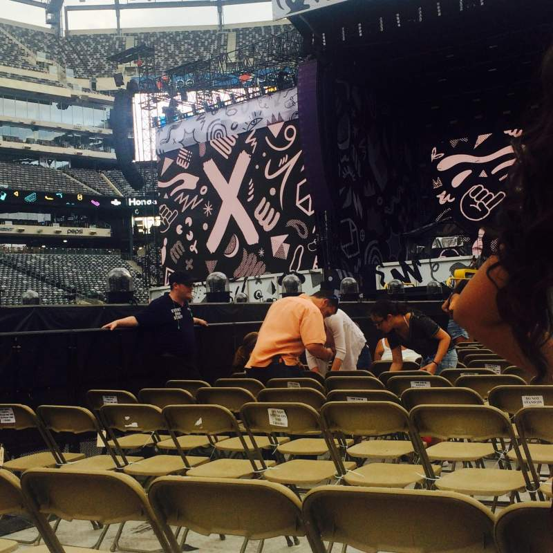 Seating view for MetLife Stadium Section 9 Row 3 Seat 3