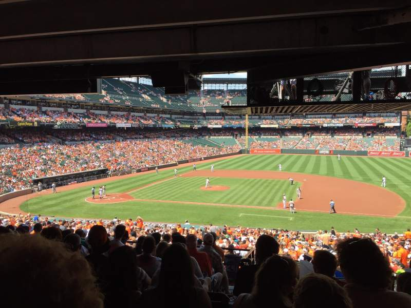 Seating view for Oriole Park at Camden Yards Section 19 Row 10 Seat 7