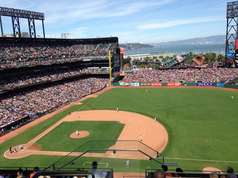 Seating view for AT&T Park Section 305 Row 5 Seat 24