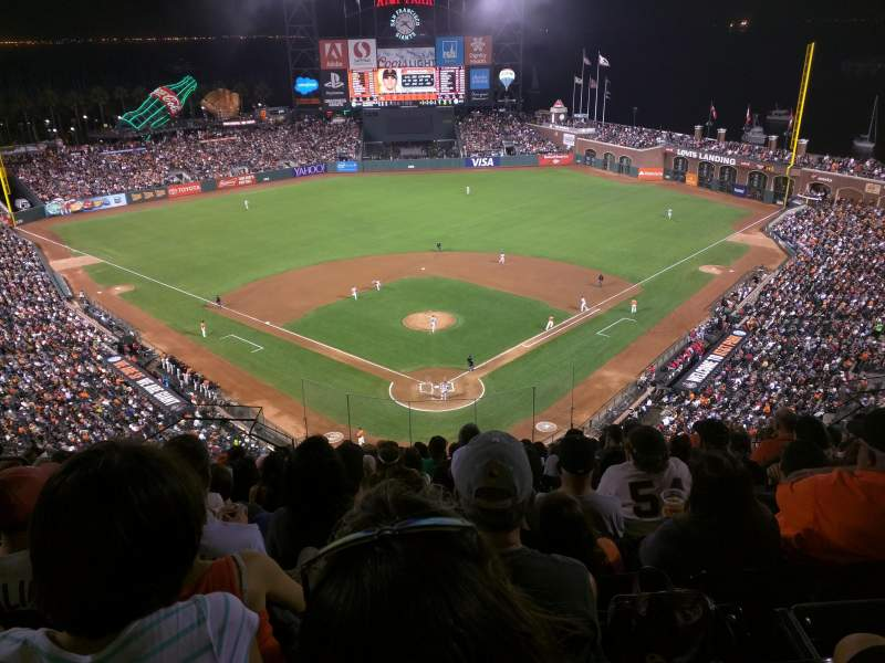 Seating view for AT&T Park Section 315 Row 11 Seat 16