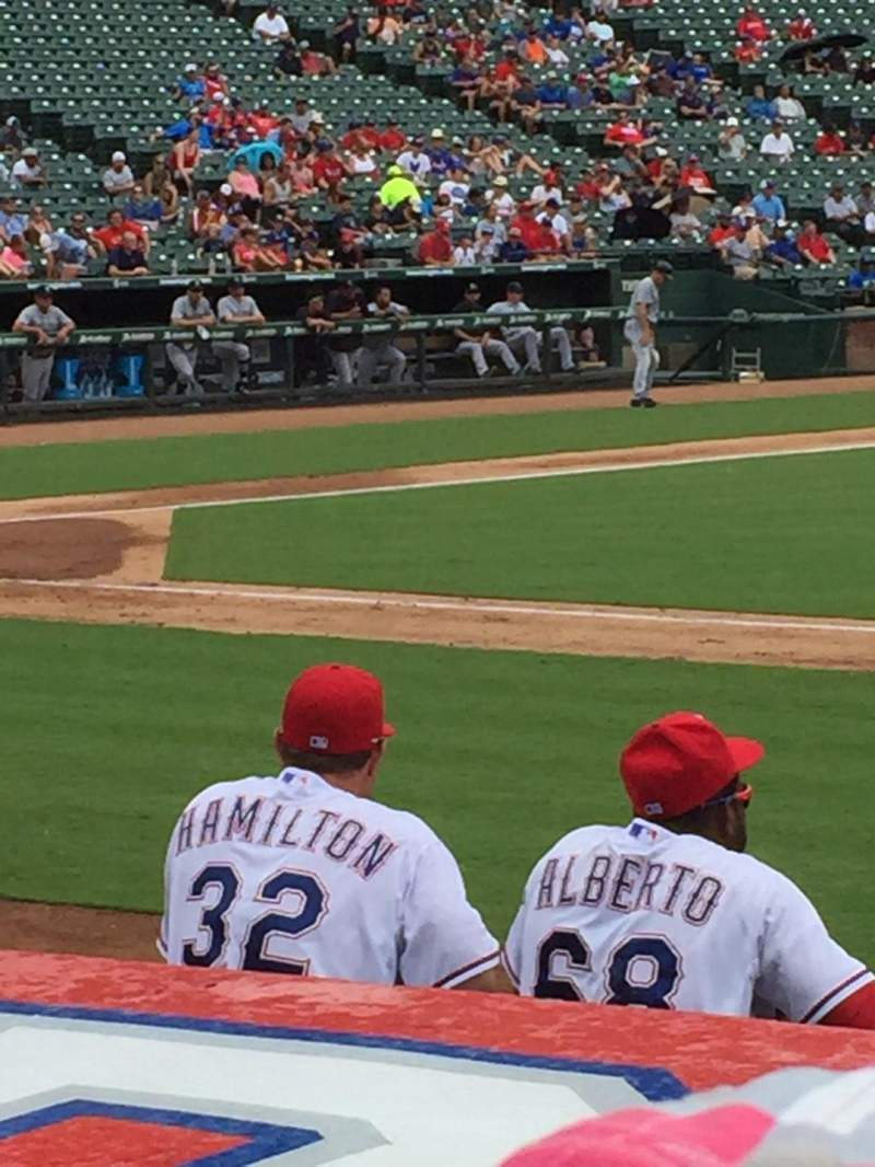 Seating view for Globe Life Park in Arlington Section 33 Row 5 Seat 16