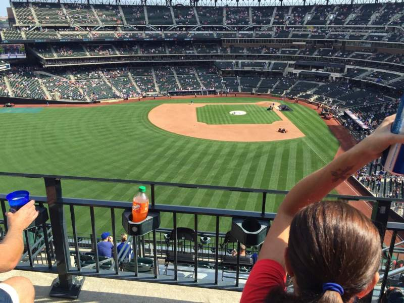 Seating view for Citi Field Section 534 Row 2 Seat 8
