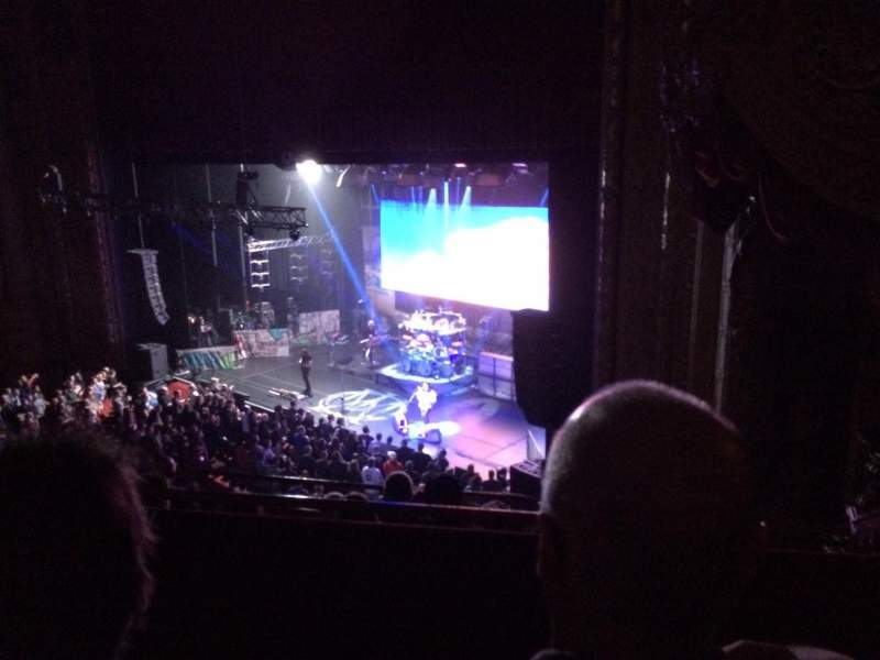 Chicago Theatre, section: Balc1r, row: B, seat: 118